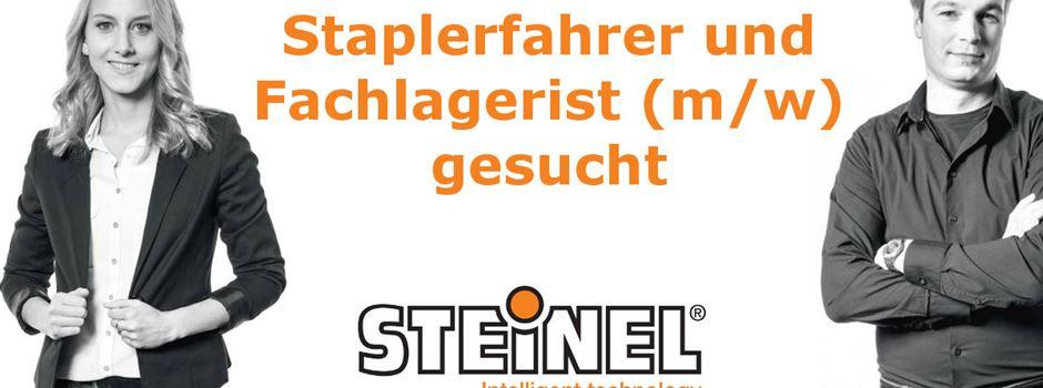 Stellenanzeige: Steinel sucht Staplerfahrer und Fachlagerist