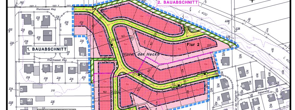 Neubaugebiet in Grolsheim