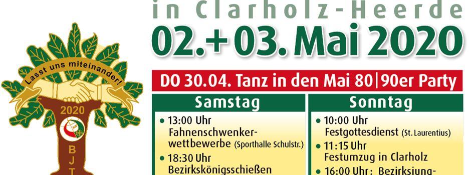 Bezirksschützenfest in Clarholz-Heerde verbindet Generationen