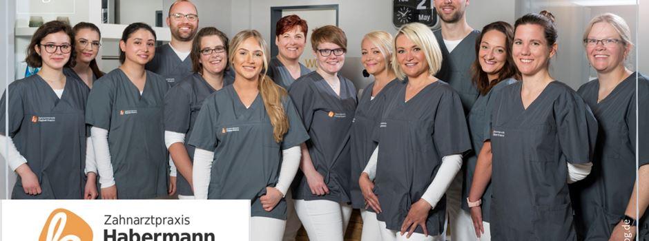 Stellenanzeige: Zahnarztpraxis Habermann sucht Zahnmedizinische/n Fachangestellte/n