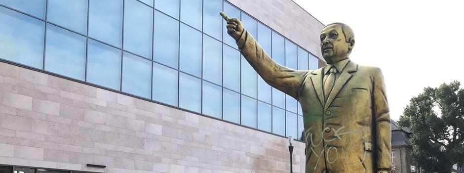 Jahresrückblick: Die goldene Statue des Recep Tayyip Erdoğan