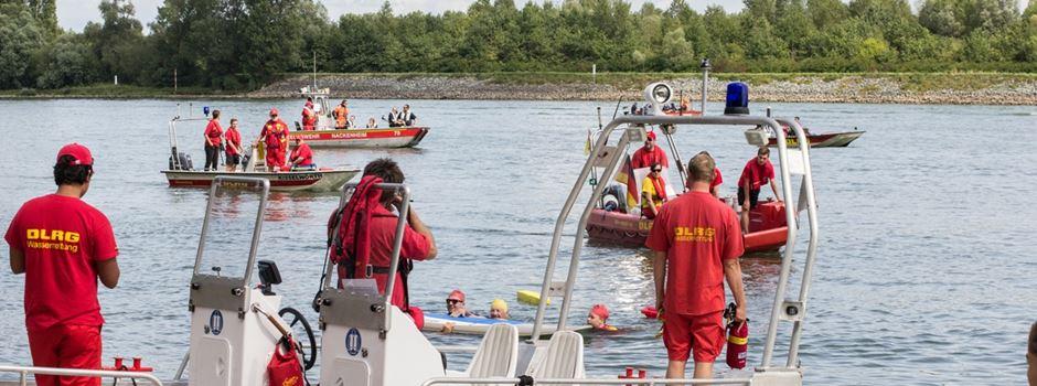"""DLRG warnt: Schwimmen im Rhein ist """"lebensgefährlich"""""""