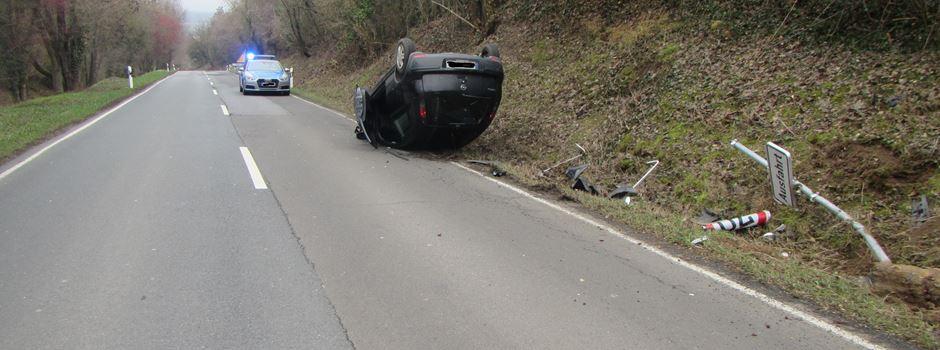 20-Jähriger bei Unfall verletzt