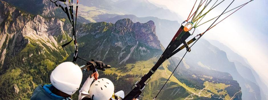 Paragliding im Selbstversuch – Ein AUXperiment