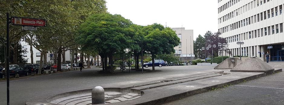 Warum die Polizei auf dem Valenciaplatz parkt