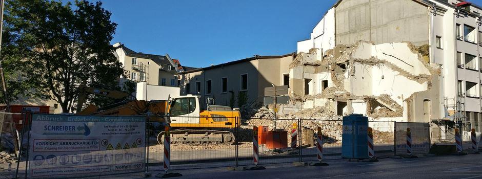 Ehemalige Lampenfabrik abgerissen