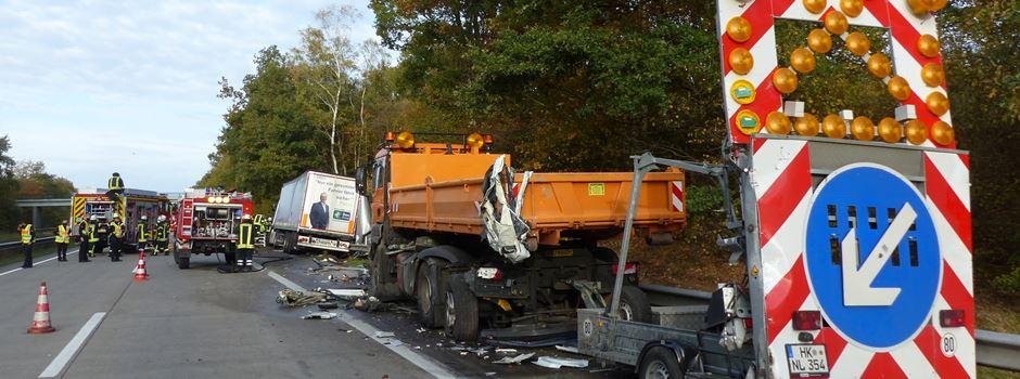 Schwerer LKW-Unfall auf A27