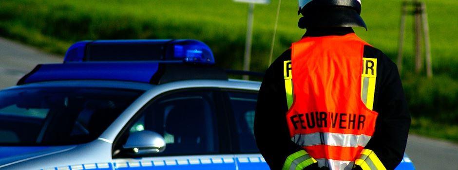 Feuer in Munster gelegt - Zimmerdecke stürzt ein