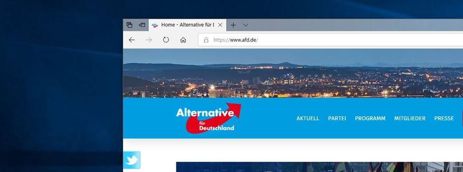 """""""Journalistenhass"""": AfD ein Fall für den Hessischen Verfassungsschutz?"""