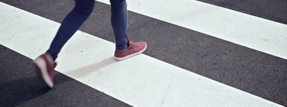 12-jährige Radfahrerin auf Zebrastreifen angefahren