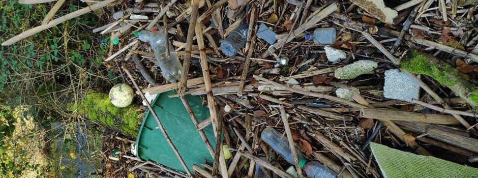 Wilder Müll im Rhein-Sieg Kreis schädigt die Natur