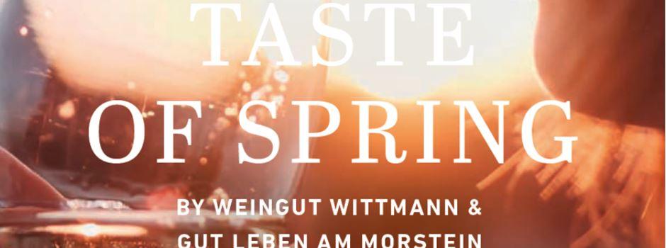 """""""Taste of Spring"""" Weingut Wittmann & GUT LEBEN am Morstein"""