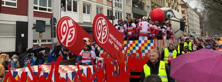 Was Mainz 05 zu dem gelangweilten Auftritt auf dem Rosenmontagsumzug sagt