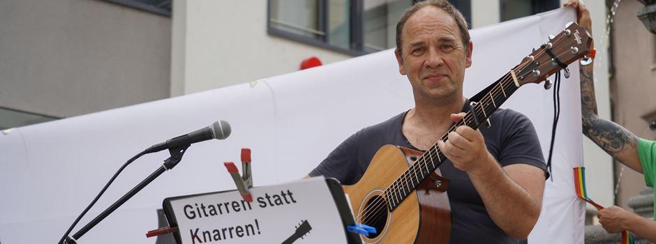 "Udo Lindenberg & AugsburgerInnen: ""Gitarren statt Knarren"""