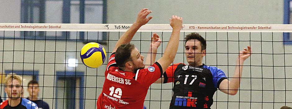 TuS Mondorf: Volleyball-Topspiel in Moers
