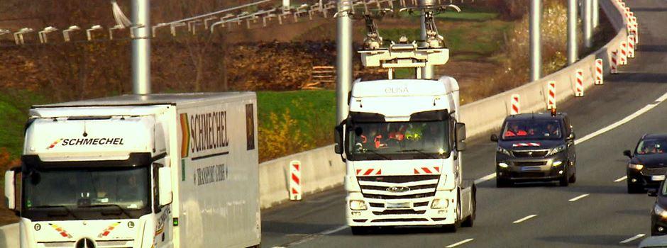 E-Highway eröffnet nahe Frankfurt