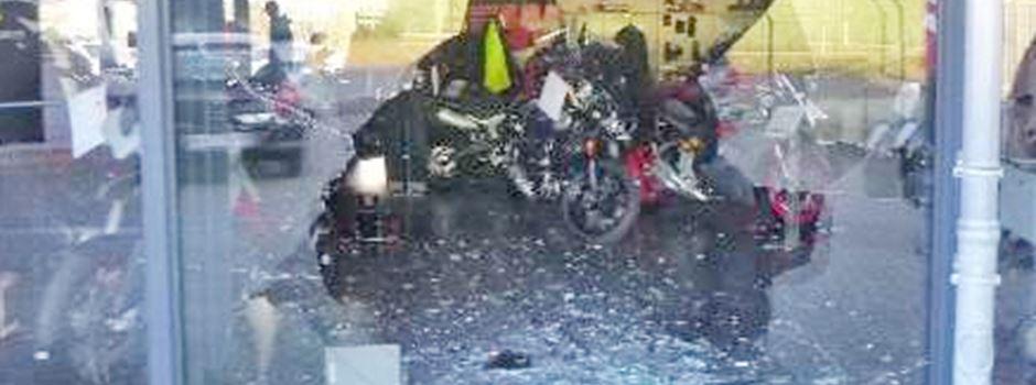 Drei Ducatis gestohlen