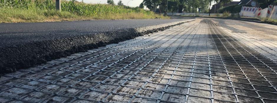 """Fahrbahndecke """"Otto-Hahn-Straße"""" schneller fertig als geplant"""