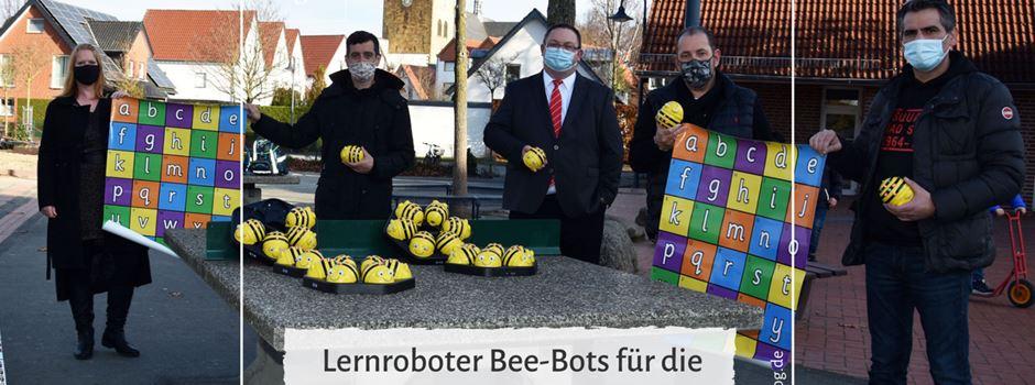 Lernroboter Bee-Bots für die Schüler der Josefschule