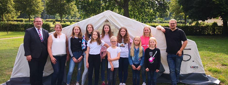 Anzeige: Kreissparkasse Wiedenbrück spendet für das Zeltlager