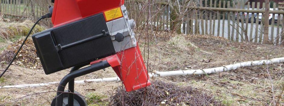 Häckselaktion im November in Herzebrock-Clarholz