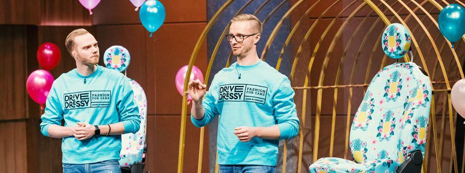 """Zwei Wiesbadener zeigen ihre Erfindung in VOX-Show """"Höhle der Löwen"""""""