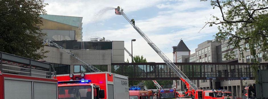 UPDATE: Rheinstraße nach Großbrand wieder befahrbar