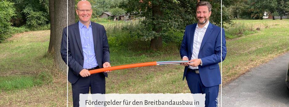 Fördergelder für den Breitbandausbau in Herzebrock-Clarholz bewilligt