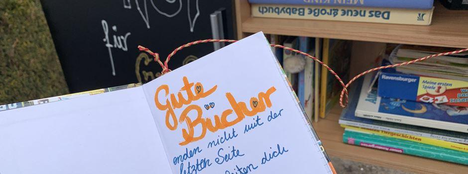 Bücherschrank für Groß und Klein