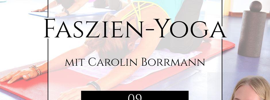 Anzeige: Faszien-Yoga Workshop im November
