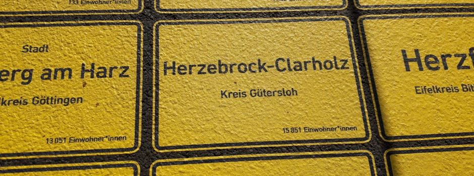 Herzebrock-Clarholz im Band der Einheit in Berlin