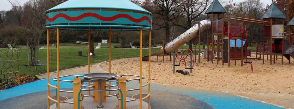 Integrativer Spielplatz neu im Botanischen Garten
