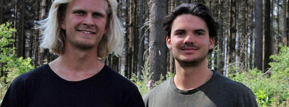 Wie zwei Studenten den Wiesbadener Wald aufforsten wollen