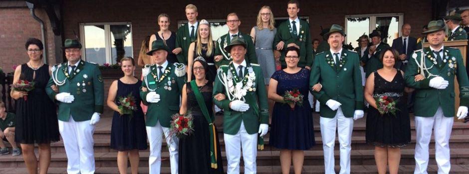Schützenthron Clarholz-Heerde 2017/2018