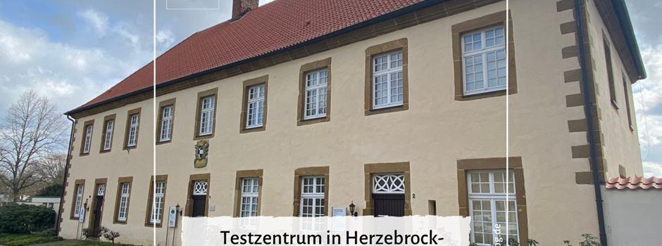 Testzentrum in Herzebrock-Clarholz startet am 14. März