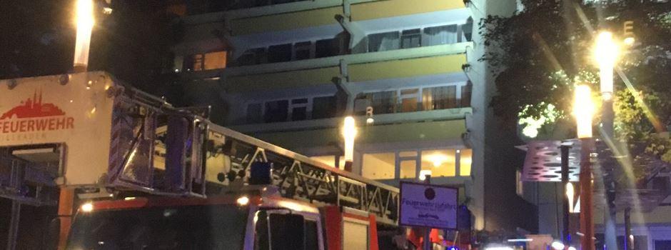 Schelmengraben: Brand im Hochhaus