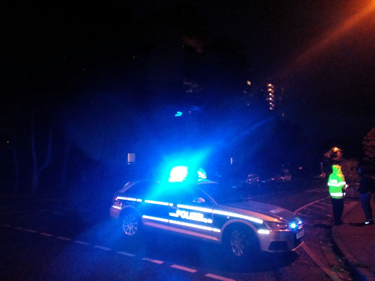 Großer Polizeieinsatz in Mainz-Gonsenheim: Eine Person bei Streitigkeiten leicht verletzt
