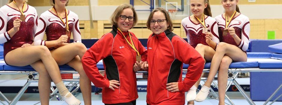 Clarholzer bei Deutschen Meisterschaften im Trampolinturnen