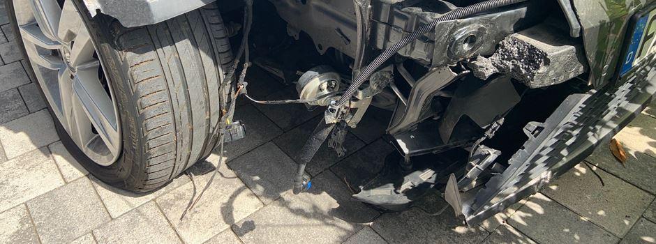 Betrunken Unfall gebaut: Frau (32) belügt Polizei