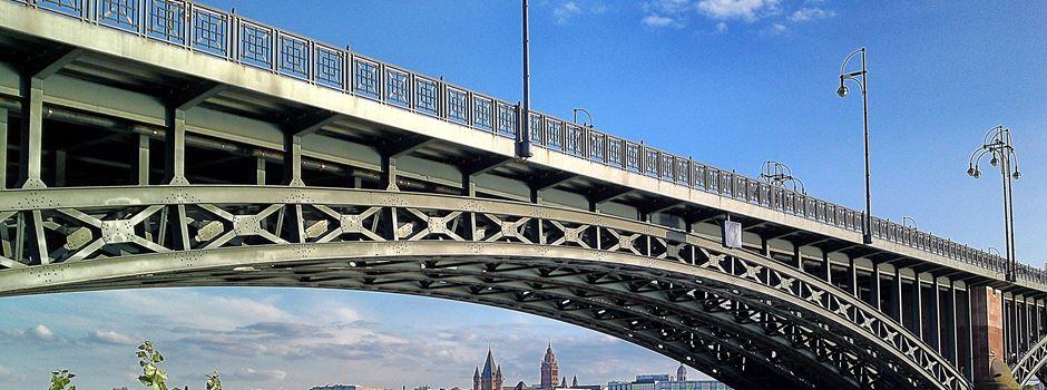 Engstellen auf Theodor-Heuss-Brücke ab Montag