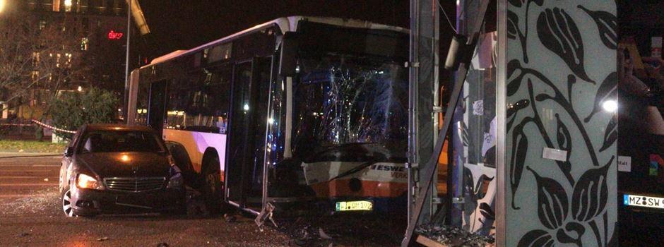 Busunfall am Hauptbahnhof nicht durch technisches Versagen verursacht