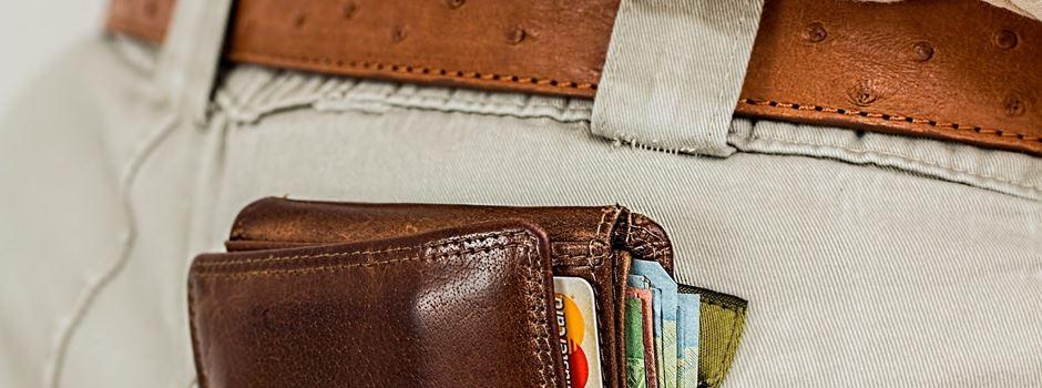 Portemonnaies gestohlen