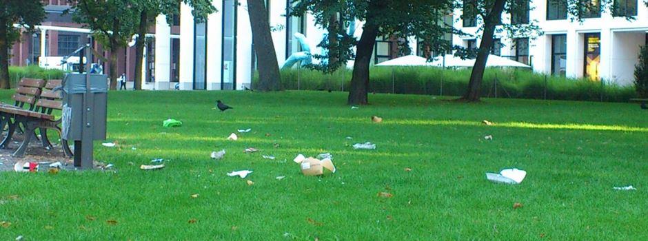 Manche kämpfen gegen Müll im öffentlichen Raum, andere zerstreuen ihn