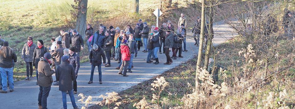 Wandern auf dem Truppenübungsplatz: Auf halbem Weg gibt's Glühwein