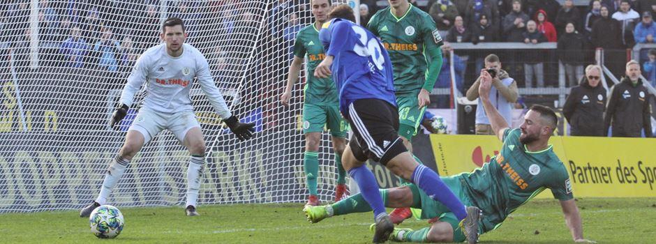 Hart umkämpftes Derby – 1.FCS siegt nach Last-Minute-Elfmeter gegen den FC 08 Homburg