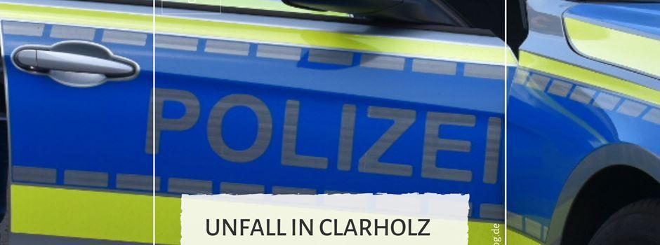 Unfall in Clarholz an der B64