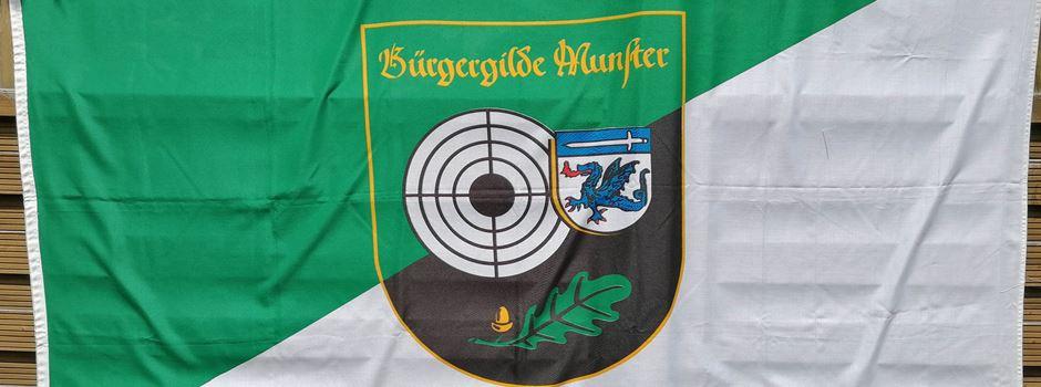 """Bürgergilde zeigt Flagge"""