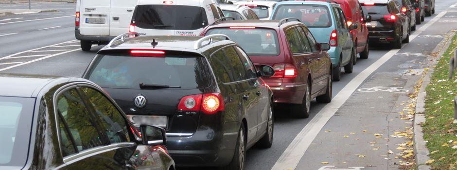 Zwei Hauptverkehrsadern am Wochenende gesperrt