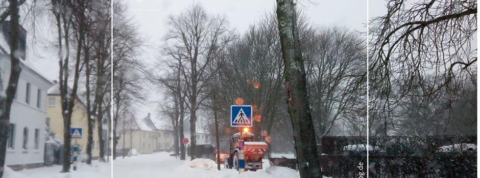 Gemeinde Herzebrock-Clarholz bei aktueller Winterlage