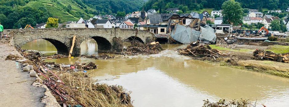 Nierstein hilft – den Opfern der Flutkatastrophe in Mayschoß